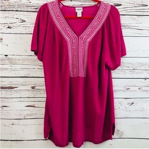 Chico's Pink Sweater Tunic